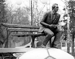 Памятник В. В. Лобановскому.