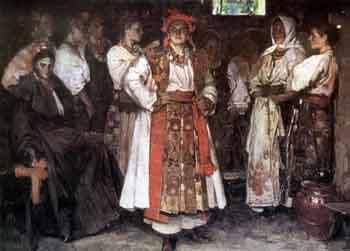Федор Кричевский «Невеста», 1910