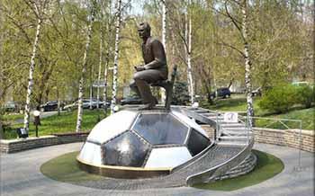 Памятник В. В. Лобановскому