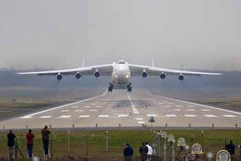 Самый большой в мире самолет Ан-225 «Мрия».