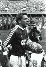 Олег Блохин — прощальный матч.