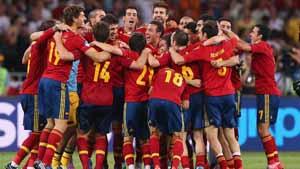 Испания — чемпион Европы 2012.