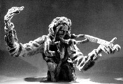 Скульптура Артемия Веделя работы Михаила Грицюка