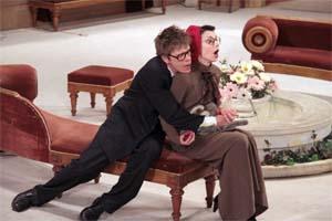 Сцена из спектакля № 13<br>(«Безумная ночь, или Женитьба Пигдена»).