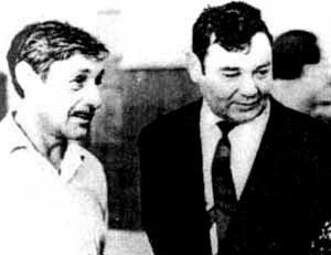 Григорий Кипнис и Виктор Некрасов.