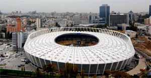 Национальный спортивный комплекс «Олимпийский» сегодня.