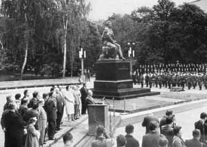 Открытие памятника Пушкину. 6 июня 1962 г.