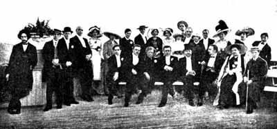 Труппа МХТ в Киеве, 1912 г.