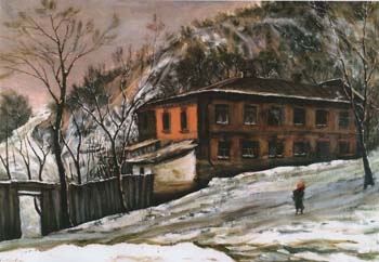 Ефим Хайдович. Киев. Кожемяки. 1977.